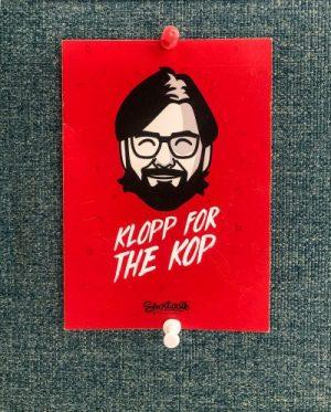 Cartoon of Jurgen Klopp